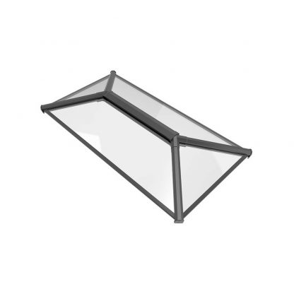 Stratus Contemporary Roof Lantern Style 1 Grey