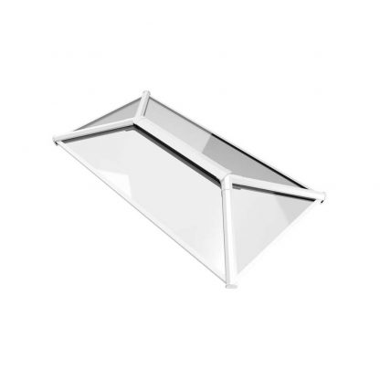 Stratus Contemporary Roof Lantern White