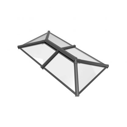 Stratus 2 way design roof lantern grey