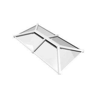 Stratus 2 way design roof lantern white