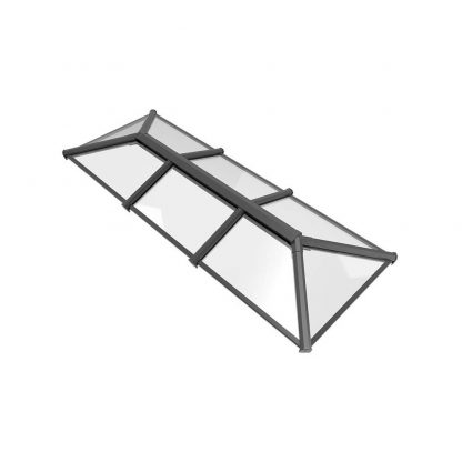 Stratus roof lantern 2 way design style 3 grey