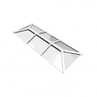 Stratus roof lantern 2 way design style 3 white