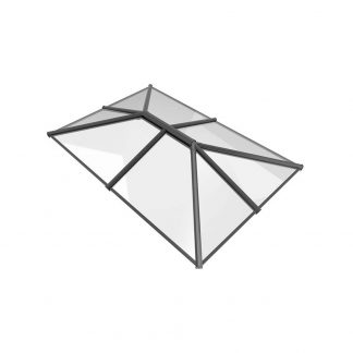 Stratus roof lantern 3 way design style 4 grey