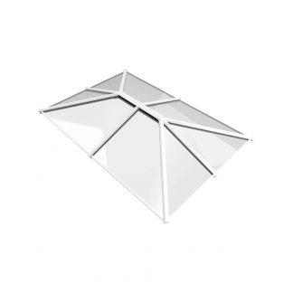 Stratus roof lantern 3 way design style 4 white
