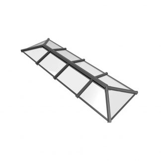 Stratus 2 way design roof lantern grey style 6