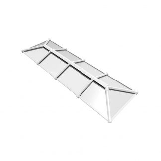 Stratus 2 way design roof lantern white style 6