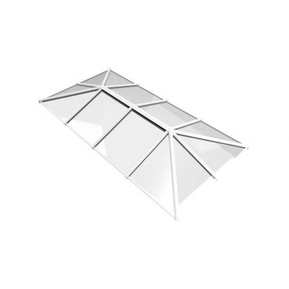 Stratus roof lantern 3 way design style 7 white