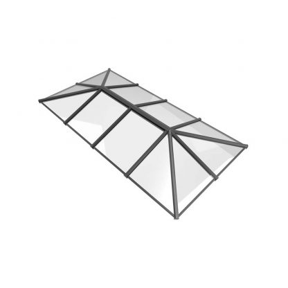 Stratus roof lantern 3 way design style 7 grey