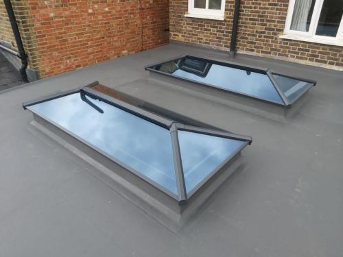 Contemporary Stratus Lantern Roof 6
